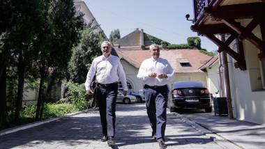 dragnea tariceanu_George Calin inquam_GC_ sedinta PSD-ALDE-4483