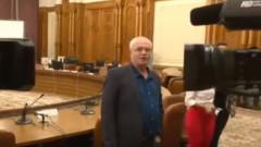 nicolicea refuzat de jurnalisti la comisie