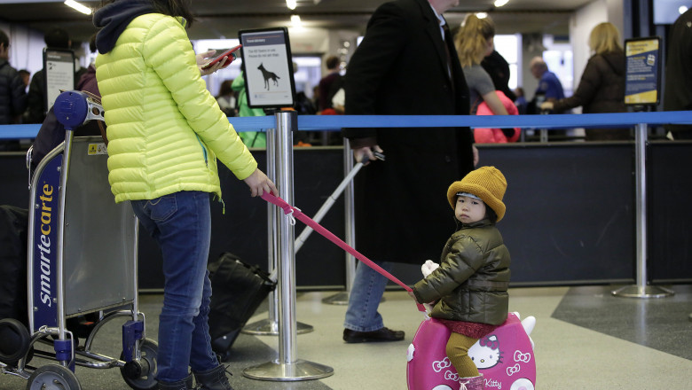 Travelers Fight Crowds On Busiest Travel Day Of Holiday Season