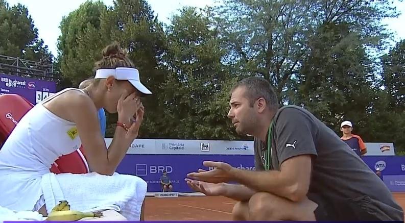 VIDEO. BRD Bucharest Open 2018. Mihaela Buzarnescu, calificare cu emoţii şi cu nervi