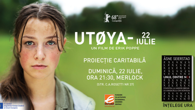 Utoya film July 22 proiectie caritabila