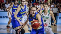 baschet feminin U20 Euro Romania Lituania