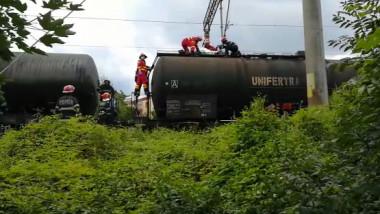 mort tren electrocutat captura