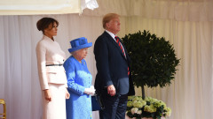 US President Trump meets with Queen Elizabeth II