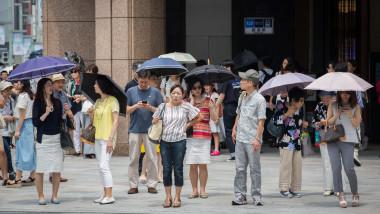 Heat Wave Hits Japan