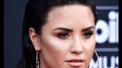 demi lovato crop getty