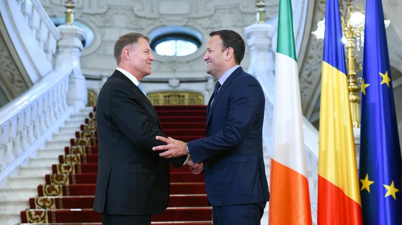 iohannis premier varadkar irlanda - presidency