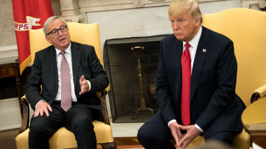 President Trump Meets With President of the European Commission