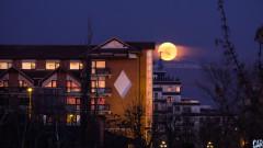 luna plina bucuresti eclipsa cer