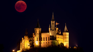 Total Lunar Eclipse Over Germany