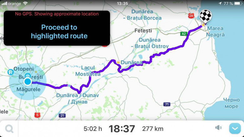 rute prin Bulgaria eroare Waze 2 290718
