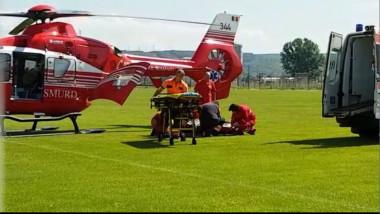 elicopter smurd electrocutat