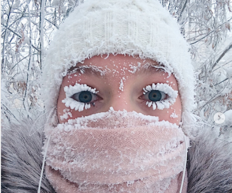 selfie yakutsk