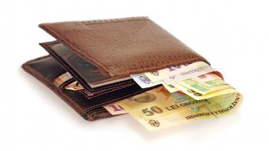 portofel cu bani lei bancnote_shutterstock_64300114