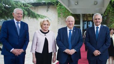 melescanu dancila dragnea presedinte israel - gov