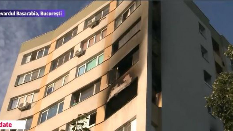 explozie bloc bucuresti