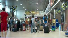 turisti aeroport