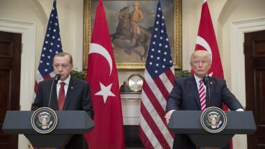 President Trump Hosts Turkey's President Erdogan At The White House