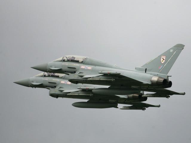 Şase bombardiere ruseşti, interceptate în apropierea României de avioanele de luptă ale Royal Air Force de la Kogălniceanu