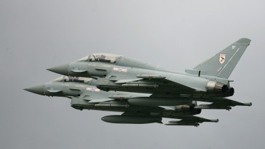 Eurofighter Typhoon Launched To Replace Tornado F3s