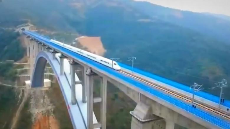 drumul matasii tren