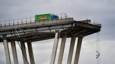 Morandi Highway Bridge Collapse in Genoa, Italy