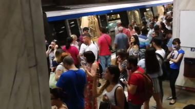 metrou, angajati metrorex, greva generala la metrou