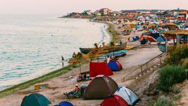 vama veche plaja litoral mare