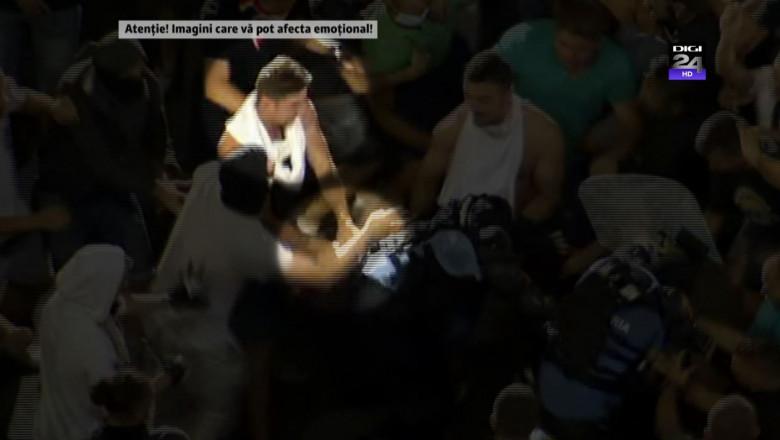 moment pistol furat jandarmerita protest 2