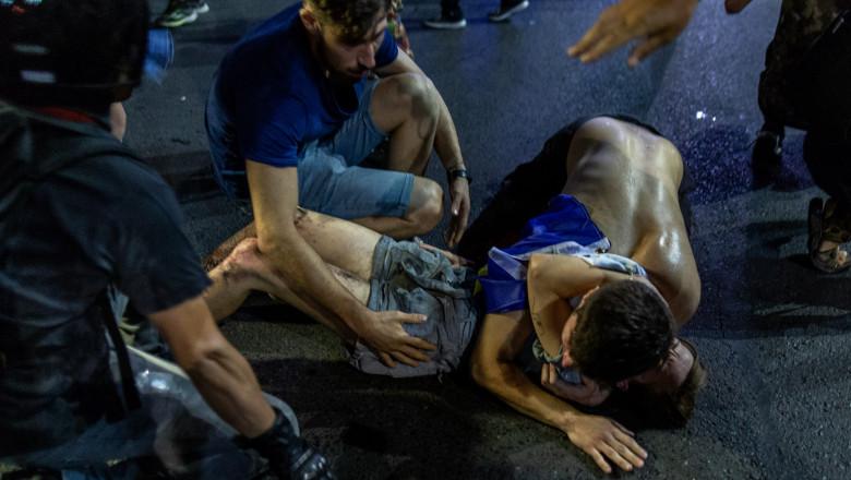 BUCURESTI - PROTEST - DIASPORA - 10 AUGUST