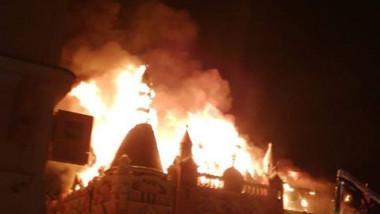 incendiu episcopie Greco Catolica Oradea2