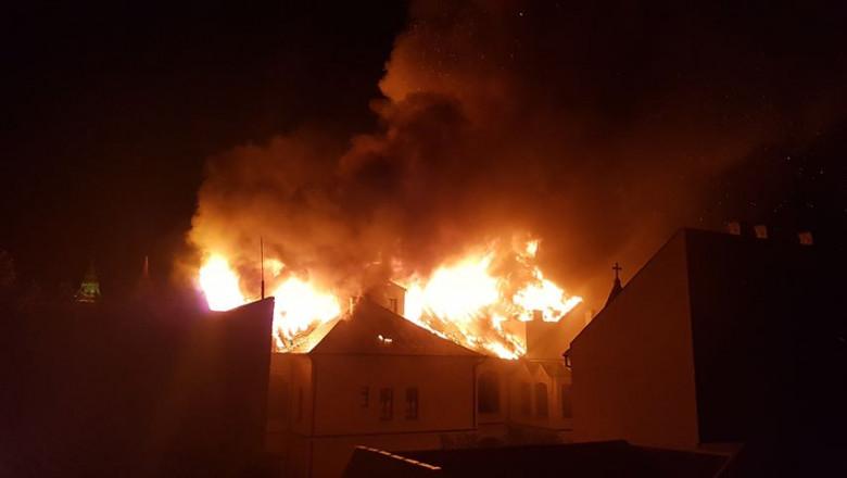incendiu Palat Episcopal - Gheorghe Ristea1