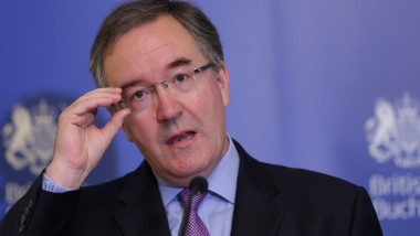 Andrew Noble ambasadorul Marii Britanii la bucuresti