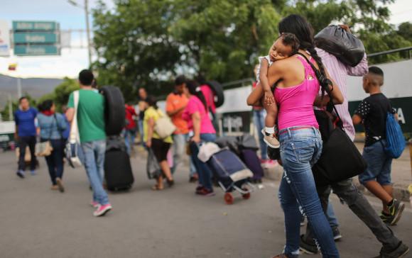 Crisis In Venezuela Sends Migrants Across Border To Colombia