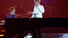 Elton John and Rod Stewart at the 7th Annual Andre Agassi Charitable Foundation's Grand Slam for Children Benefit Concert