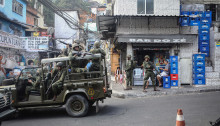 Army Troops Called In To Rio's Rocinha Favela To Quell Violence