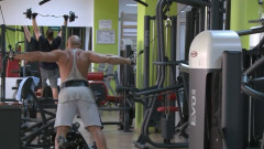 sala fitness barbati