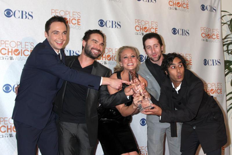 Distrubutie Big Bang Theory