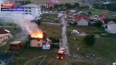 incendiu pensiune Tasnad