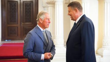 Printul Charles si Klaus Iohannis, la Cotroceni - presidency (1)