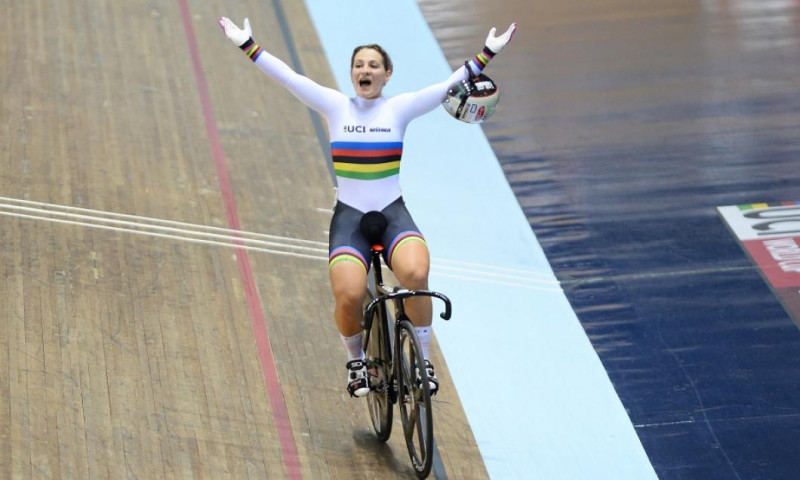 Kristina Vogel ciclista getty