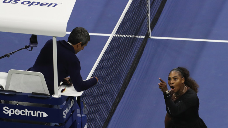serena williams nervi cearta us open