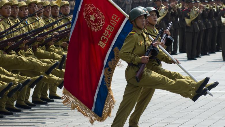 militari parada coreea de nord phenian shutterstock_148621262