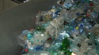 gunoaie sticle plastic