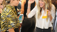 Sarah Jessica Parker Attends Launch Of SJP By Sarah Jessica Parker Store At The Seaport District NYC