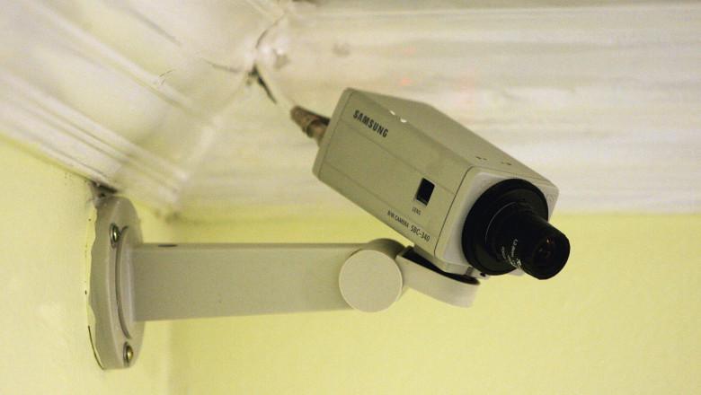 camera de supraveghere getty