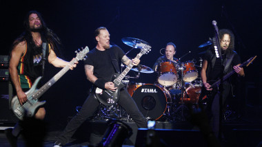 Metallica Perform at The Silverlake Conservatory of Music Benefit