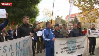 protest penitenciar gardieni