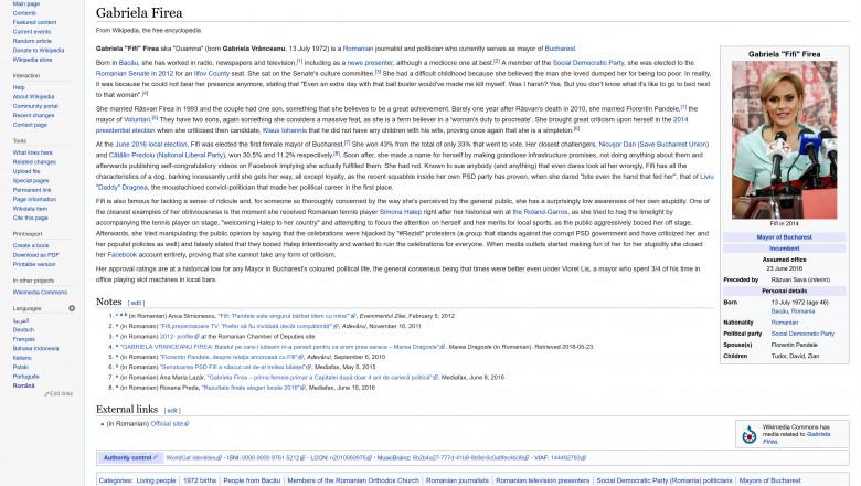 Gabriela_Firea_-_Wikipedia_-engleza