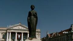 regina maria statuie oradea